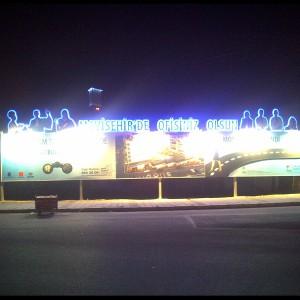 Led ışıklı billboard montaj izmir