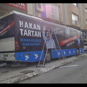 İzmir Otobüs giydirme