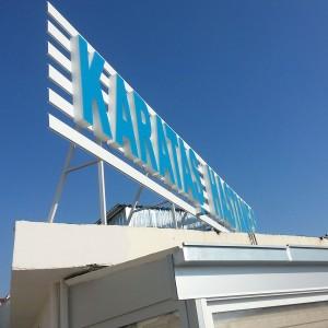 Karataş hastanesi izmir çatı tabelası