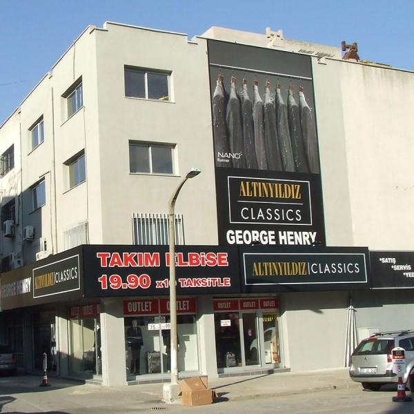 İzmir Altınyıldız Cephe Dijital Baskı